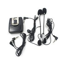 Wholesale headphones intercom resale online - GPS MP3 Moto Helmet Headset Modified Motorcycle Helmet Intercom Headphones Accessories mm Plug Diameter