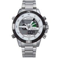 7d9b4b16c472 relojes epozz al por mayor-POZZ Analógico Digital de tiempo dual para  hombre relojes de