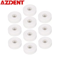 Wholesale waxed floss resale online - AZDENT Rolls Dental Flosser Built in Spool Wax Mint Flavored Europe Replacement Flat Wire Dental Floss M Roll Total M C18122801