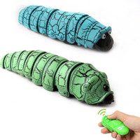 Wholesale old remote control for sale - Group buy New exotic remote control reptile reptile insect caterpillar electric remote control toy Tricky toy over three years old V079