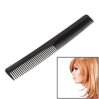 Wholesale comb hair carbon for sale - Group buy Black Professional Combs Hairdressing New Tail Comb Two Carbon Anti Static Comb Hair Cutting Comb Set Pro