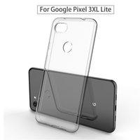 xperia handys großhandel-Für google pixel 3 xl lite sony xperia xz4 kompakt klar transparent tpu gel handy fällen weichen ultradünnen slim fit abdeckungen