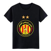 formalen t-shirt kurze ärmel großhandel-Esperance de Tunis est t Männer-Shirt Entwerfen Kurzarmshirt mit runden Ausschnitt Natürlichen loser Breathable Sommer-Art-Formal T-Shirts