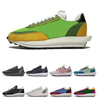 Wholesale beige lace boots resale online - 2019 New Sacai LDV Waffle Daybreak Trainers Mens Sneakers For Women fashion designer Breathe Tripe S Sports Running Shoes Size Eur