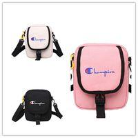 Wholesale shopping bags online - Women Girls Champions Print One Shoulder Bag Handbag Crossbody Messenger Bags Casual Sports Travel Beach Shopping Belt Packs Waist Bag C426