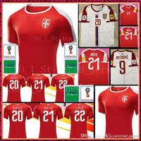 Wholesale serbia for sale - 2018 World Cup Serbia Soccer Jersey Serbia  IVANOVIC MITROVIC TADIC KOLAROV 964d1c3c7