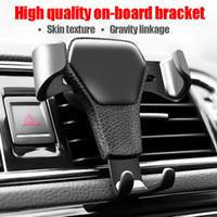 autohalter einzelhandelspaket großhandel-Universal Autotelefonhalter Air Vent Mount Ständer für Handy im Auto Kein magnetischer Handyständerhalter mit Kleinpaket