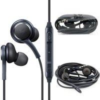 ingrosso controllo auricolare del mic del microfono a distanza-S8 auricolari 3.5mm Wired auricolari Cuffia con le cuffie controllo remoto del volume Mic per Samsung S6 S7 S8 più