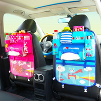 Wholesale baby clothes storage boxes for sale - Group buy 1PCS Auto Car Seat Organizer Holder Foldable Car Hang Bags Multifunctional Travel Storage Bag Baby Product Tidying Backseat Organizing Box