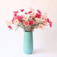 frühlingsblumen pflanzen großhandel-Künstliche frühling landschaft kosmos europäische hochwertige simulation daisy blumen gefälschte pflanzen home shop dekoration blumen großhandelspreis