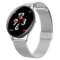 Wholesale watch monitor belt for sale - Group buy 2019 OGEDA Ladies Smart Watch Ultrathin Mesh Steel Belt Long Standby MAh Ip68 Heart Rate Blood Pressure Monitoring Men Watch