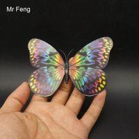kelebek oyunları toptan satış-3D Kelebek Mıknatıs Model Oyuncak Çocuk Öğretim Oyunu (Model Numarası I237)