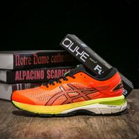 b07144b4ee93 ASICS GEL KAYANO 25 Men Running Shoes Onitsuka Tiger K25 Mens Designer Shoes  New Black White Orange Sport Sneakers Size 40-45