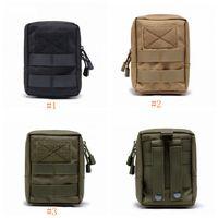 ingrosso borse militari esterne-Multifunzionale Outdoor Tactical Marsupio Marsupio Marsupio Accessorio Durevole Cintura Pouch Sacchetto del telefono mobile LJJZ480