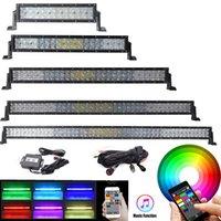 32 barras de luz led venda por atacado-