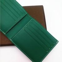 kleiner segeltuchgeldbeutel großhandel-Paris Stil Luxus Designer Herren Berühmte Männer Kleine Brieftasche Beschichtetes Segeltuch Mit Echtem Leder Mehrere Kurze Brieftaschen Geldbörse