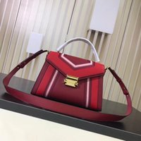 mk handbag venda por atacado-Famous brand Designer women single shoulder bag luxury bags Celline Phantom leather handbags Small size Bat ear bag mk 30T8GXIM1T