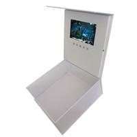 lcd contrôle de la lumière achat en gros de-Qualité 7 pouces vidéo boîte de cadeau carte de vœux Lcd contrôle de la lumière boîte de cadeau carte de vœux vidéo Graduation Gif