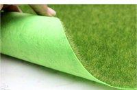 пластиковый искусственный мх оптовых-30 * 30 см / шт, высокое качество искусственного пластика завод небольшой мох газоны, поддельные травы ковер, Рождество миниатюрный сад, домашний декор ,