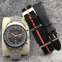 relógios de pulso venda por atacado-Relógio de homens de luxo de 2019 relógio de série automático Super Relógio de couro de homens de relógio de couro de tecido de aço inoxidável de 42 mm clássico relógio de edição limitada