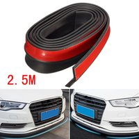 Wholesale carbon fiber hood sticker for sale - Group buy 2019NEW M Universal Carbon Fiber Front Bumper Lip Splitter Chin Spoiler Body Trim FT tuning on the funny rc cars hood N