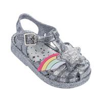 kapalı ayak parmak ayakkabıları toptan satış-Yakın Ayak 3D Gökkuşağı Yıldız Yama Kızlar Rahat Plaj Sandalet 2019 YENI mini lissa Yumuşak Alt Çocuk Ayakkabı Sandalet Kızlar Jöle ayakkabı