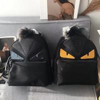 mode frauen rucksäcke jahrgang großhandel-designer rucksäcke monster eyes 2019 neueste art finden geldbörse fadi designer taschen damenmode geldbörse mode tasche