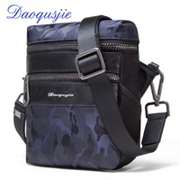b1543c10f12c DAOQUSJIE new mens nylon messenger bag waterproof casual waist pack small  shoulder bags for cell phone camouflage bag for men
