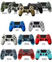 Wholesale force feedback for sale - Bluetooth Wireless PS4 Controller for PS4 Vibration Joystick Gamepad PS4 Game Controller for Sony Play Station With retail box DHL for free