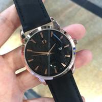роскошные часы бриллианты оптовых-Известный топ Марка роскошные часы мужчины модельер кожа кварцевые Дата 6 циферблат часы повседневная Спорт мужской Алмаз наручные часы Montre Homme