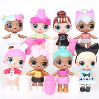 kartonverzierungen großhandel-Überraschung Puppe Pvc 8 Stile Big Eye Beauty Schöne Spielzeug Kartonverpackung Sprühwasser Figuren Puppen Ornament Mädchen 26qs N1