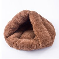 Wholesale multifunctional beds resale online - Washable Small Dog Sleeping Warm Nest Four Seasons Universal Eco friendly House Multifunctional Soft Indoor Cat Bed Pet Supplies