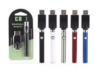 Wholesale variable pen resale online - Preheat VV Battery Charger Kit mAh Preheating Vertex LO Variable Voltage Vape Pen Battery For CE3 TH105 Thick Oil Ceramic Cartridges
