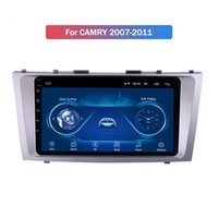 Wholesale radio camry resale online - 10 Inch Full Screen Car Audio Radio System Player for Toyota CAMRY Android Entertainment Gps Navigation