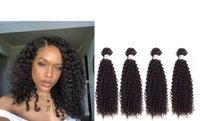 indisch weiches lockiges haar großhandel-Viya 8A Versaute Curly Style-Bundles Indian Hair Extensions können weich gefärbt und mit glattem Natur Farben-freies Verschiffen