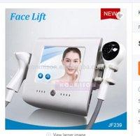 машина для подтяжки лица для дома оптовых-радиочастотный Тепловое Lift кожи Прохладный Cryo лица машина для ухода за кожей для домашнего использования Face Lift RF кожи омоложение машина