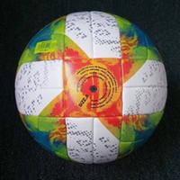 champion liga fußball bälle großhandel-hochwertiger neuer 2019 UEFA Champions League-Fußball CONEXT 19 Offizieller Spielball PU-Größe 5 erwachsene Haut geben Verschiffen frei