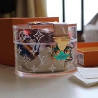ingrosso repliche di lusso-Serbatoio di lusso firmato designer borsa di marca replica serbatoio di lusso di lusso sciarpa di seta omaggio regalo stampato LOGO confezione regalo I0203