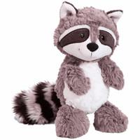 juguetes grises al por mayor-25 cm oso gris de peluche de juguete encantador lindo suave animales de peluche muñeca almohada para niños niños niñas bebé regalo de cumpleaños