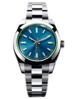 лучшие автоматические спортивные часы оптовых-2019 Лучший новый m116400gv 40 мм мужская автоматическая механическая нержавеющая сталь спортивные светящиеся часы