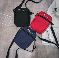 Wholesale mobile bags for sale - Group buy 3styles C letter Mobile Phone Bag Motion Outdoor Sport Pocket Printing Leisure Package Shoulder Bag crossbody bag phone pouch