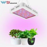 sebze çiçekleri toptan satış-Çift anahtarı Yeni 1000 W Tam Spektrum LED Büyümek Işık Çift Çip Topraksız Sebze Çiçek Bitki Işık Büyütün