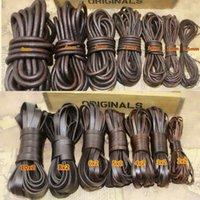 cords craft Round Leather Cord for Round Bracelet Necklaces Plain Genuine Leather Cord 3.0MM 32 Tan Brown