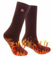 iyon kadınlar toptan satış-Kadın ve Erkek Kış Sıcak Isıtmalı Çorap 3.7 V şarj edilebilir li-ion pil ile Elektrikli Isıtmalı Sağlık Yumuşak Çorap kış