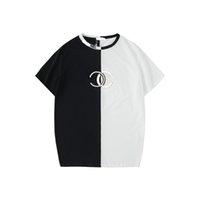 ingrosso designer abbigliamento donna-T-shirt da donna di marca T-shirt da donna di lusso con ricamo a lettera T-shirt manica corta con motivo a quadri T-shirt S-2XL