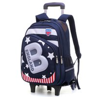 401a4ab839 Removable Wheels Children School Bag Boys Kids Trolley school Backpack  Wheeled Bags Travel Bags girls Backpacks mochilas