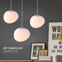 Wholesale lamp foscarini resale online - Italy Foscarini Gregg Suspension Lamp Glass Pendant Lights Modern Led Irregular Hanging Lamp Dining Room Kitchen Light Fixtures