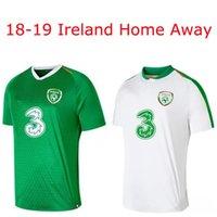 calções irlandeses venda por atacado-18-19 FA Ireland camisas de futebol casa e camisa de manga curta de futebol MULLER CLARK WHELAN MURPHY BRADY MAGUIRE WARD DUFFY KEANE