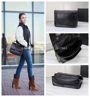 Wholesale english handbag resale online - Hot Sale Fashion Vintage Handbags Women bags English style leather chain bag Y letter bags Sheepskin bags message bag Hobo bag