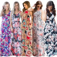Wholesale maxi dress summer china for sale - Group buy Hot selling Retro Women Maxi dresses Sexy Tank Dress China women clothes Manufacturer Wholesaler Summer Free DHL